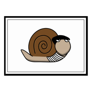 Escargot - French Snail Business Cards