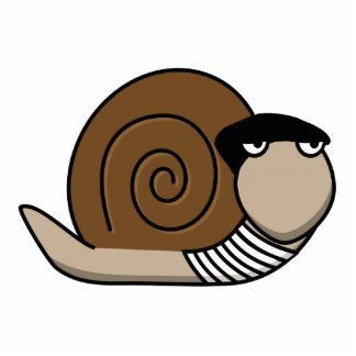 Escargot - French Snail Standing Photo Sculpture