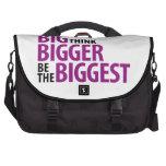escarie grande, piense más grande, sea el bolso má bolsas para ordenador