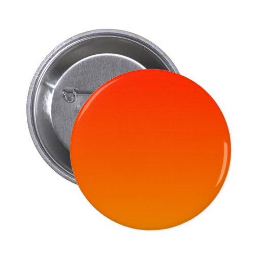 Escarlata a la pendiente horizontal de la mandarin pin redondo 5 cm