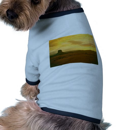 Escena 01 del valle del monumento camisetas mascota