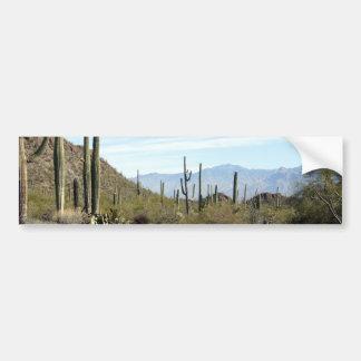 Escena 02 del desierto de Sonoran Pegatina Para Auto