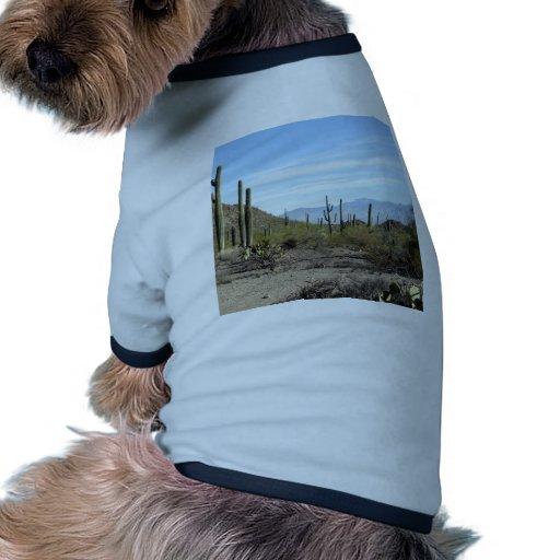Escena 02 del desierto de Sonoran Camisas De Mascota