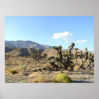 Escena 06 del desierto de Mojave Póster