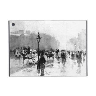 Escena 1885 de la calle de Londres iPad Mini Cárcasa