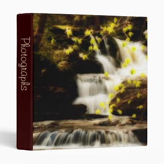 """Escena 1"""" de la cascada de la primavera de Poconos"""