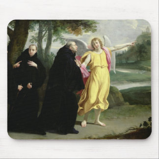 Escena a partir de la vida de St. Benedicto Tapete De Ratón