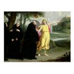 Escena a partir de la vida de St. Benedicto Tarjetas Postales