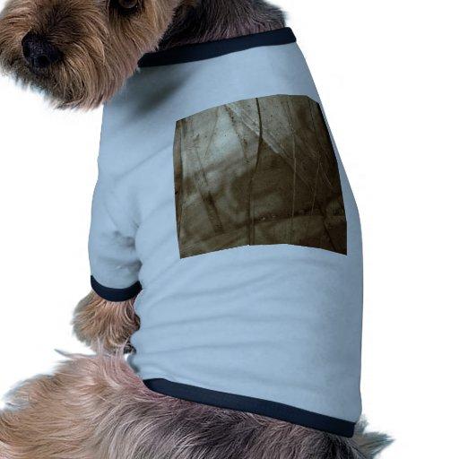 Escena anormal de Glasseater Camiseta Con Mangas Para Perro