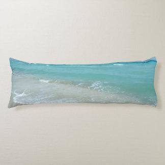 Escena azul de relajación de la naturaleza del almohada larga