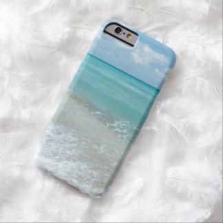 Escena azul de relajación de la naturaleza del funda barely there iPhone 6