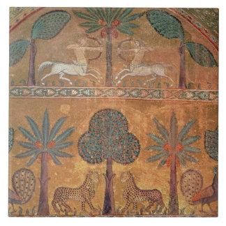 Escena con los Centaurs, del cuarto de rey Ruggero Azulejo Cuadrado Grande