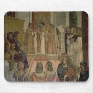 Escena coral, a partir de la vida de St. Benedicto Alfombrilla De Ratones