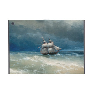 Escena costera con aguas tempestuosas Ivan Aivazov iPad Mini Fundas