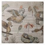 Escena de aves acuáticas en el Nilo, casa del faun Teja