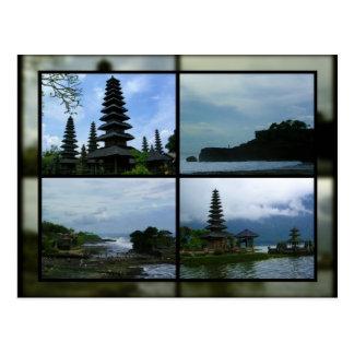 Escena de Bali Postales