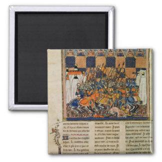 Escena de batalla, de la biografía de Godofredo Imán Cuadrado