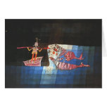Escena de batalla de Paul Klee- del ` cómico Seafa Tarjetas
