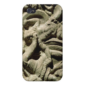 Escena de batalla de una urna cineraria, Etruscan iPhone 4/4S Fundas