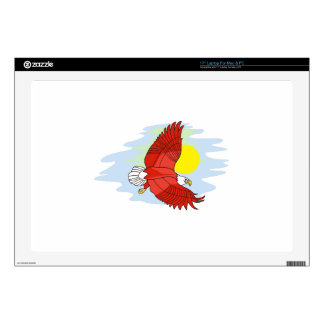 Escena de Eagle 43,2cm Portátil Calcomanía