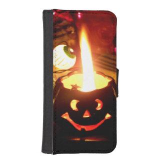 Escena de Halloween Billetera Para Teléfono