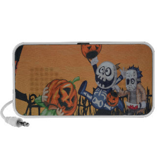 Escena de Halloween del vintage iPod Altavoz