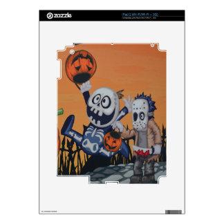 Escena de Halloween del vintage Calcomanía Para El iPad 2