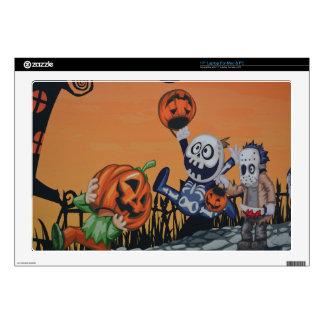 Escena de Halloween del vintage Skins Para 43,2cm Portátiles