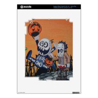Escena de Halloween del vintage iPad 3 Pegatinas Skins