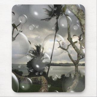 Escena de la burbuja de Hawaiin Alfombrilla De Raton