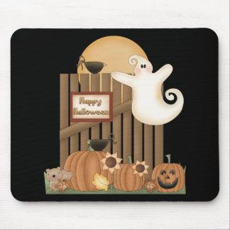 Escena de la caída del feliz Halloween Tapetes De Ratones