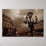Escena de la calle de París (i) Posters
