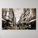 Escena de la calle de París (iii) Poster