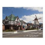 Escena de la calle de Solvang histórico Tarjetas Postales