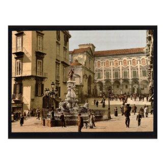 Escena de la calle, obra clásica Photochrom de Náp Postal
