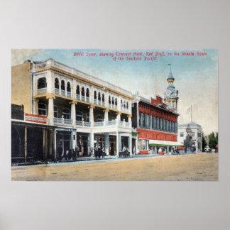 Escena de la calle que muestra el hotel de Tremont Impresiones