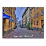 Escena de la ciudad de Helsinki Finlandia Tarjeta Postal