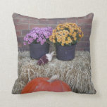 Escena de la cosecha de la acción de gracias del almohada