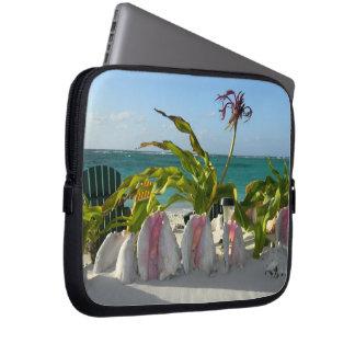 Escena de la Cubierta-Playa del ordenador portátil Fundas Ordendadores