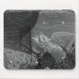Escena 'de la escarcha del Mariner antiguo Mouse Pads