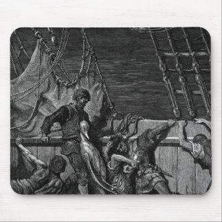 Escena 'de la escarcha del Mariner antiguo Tapete De Ratones