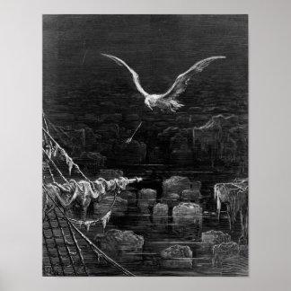 """Escena """"de la escarcha del marino antiguo"""" 2 posters"""