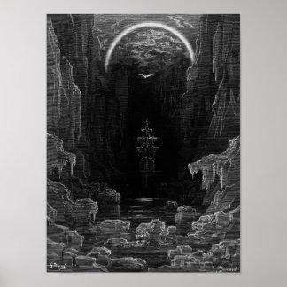 """Escena """"de la escarcha del marino antiguo"""" 2 póster"""