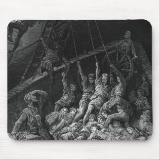 "Escena ""de la escarcha del marino antiguo"" 2 tapete de raton"