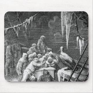 """Escena """"de la escarcha del marino antiguo"""" 3 alfombrilla de raton"""