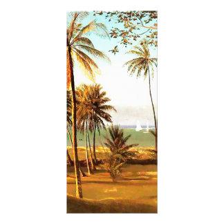 Escena de la Florida de Albert Bierstadt Plantilla De Lona