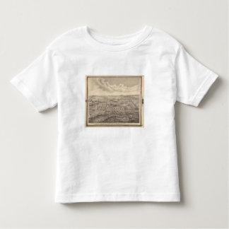Escena de la mañana, granja común de los ríos de camisas