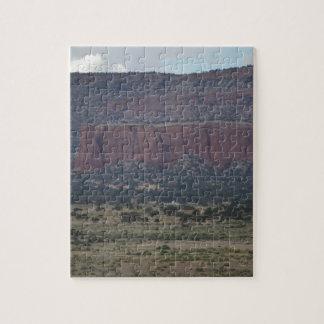 Escena de la montaña de New México Puzzle Con Fotos