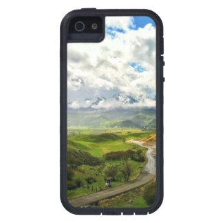 Escena de la montaña, naturaleza 02 iPhone 5 carcasas
