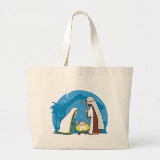 Escena de la natividad bolsa